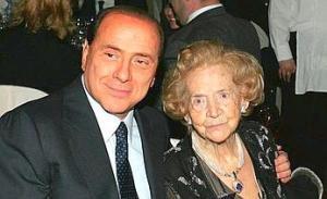 I Berlusconi mamma e figlio