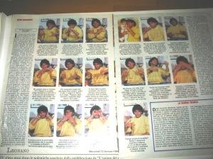 Intervista muta a Maradona