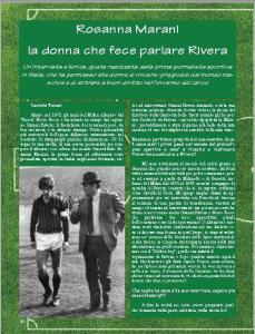 Rosanna Marani la donna che fece parlare Rivera