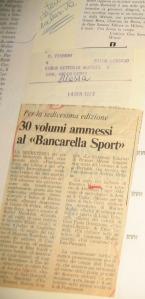 Bancarella Sport