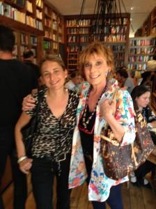 Con Maria Cristina Salvucci, la mia madrina. Non c'entra con il debutto, ma col mio cuore si!