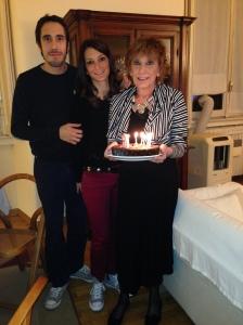 Con Giulia e Matteo