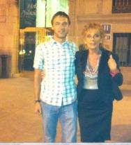 Con Stefano Rosi Galli