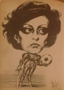 Caricatura di Franco Bruna