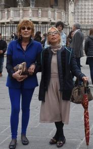 Con Anna Maria Pascolini