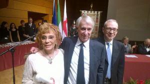 Con il Sindaco Giuliano Pisapia, incredula ed emozionatissima