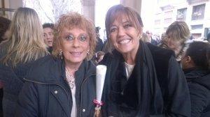 Con l'avv Annamaria Bernardini De Pace, anche lei premiata Ambrogino d'oro 2015