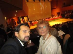 Selfie con Andrea, mio figlio