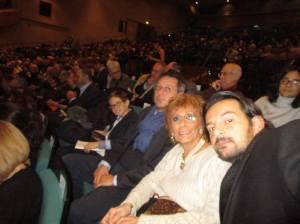 Selfie di famiglia, Giacomo, mio nipote, Gabriele e Andrea, i miei figli