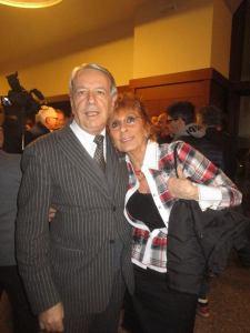 Con Luigi Colombo, indimenticato mio direttore a TMC