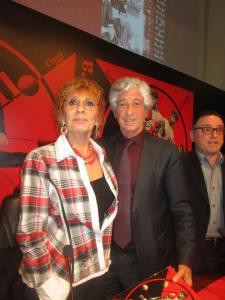 Con Gianni Rivera