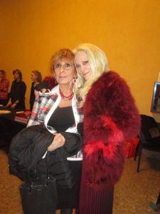Con Laura Marconi Rivera